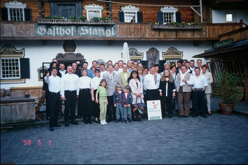 Školení Tiroler Bauernstandl na tyrolském statku Stanglwirt