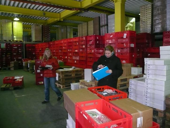 Anita Obermüller přebírá odpovědnost za logistiku – dodávky zboží jsou nyní mnohem komplexněji řešeny