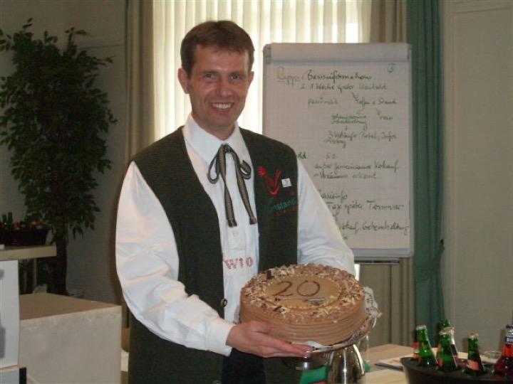 20. výročí franšízového systému Tiroler Bauernstandl