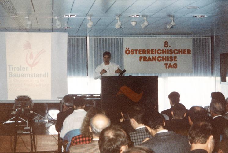 Prezentace konceptu na Rakouském dni franšízy ve Vídni