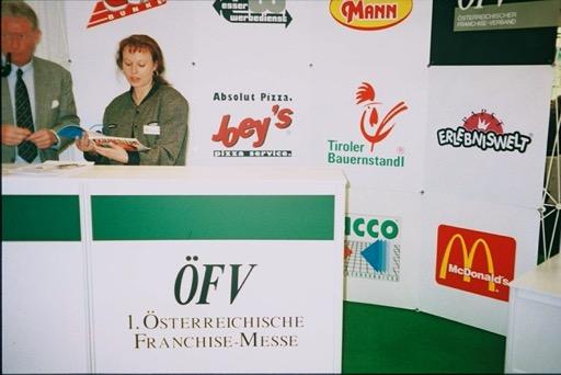 Účast Tiroler Bauernstandl na prvním rakouském veletrhu franšízy